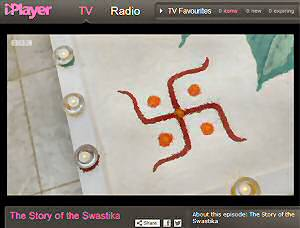 Is the swastika a symbol of evil or of good practical insights a jew and a hindu had very different views when debating the meaning of the swastika on bbcs sunday morning live 3rd nov 2013 voltagebd Choice Image